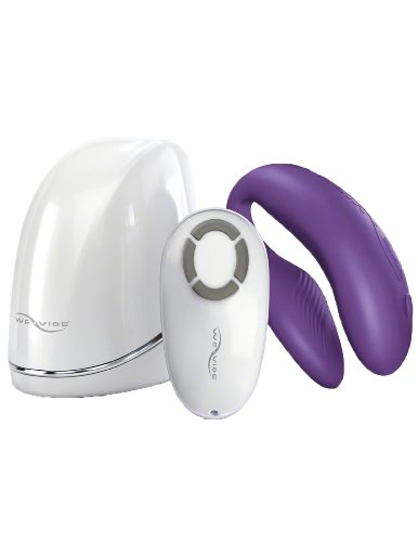 Couples Dual Stimulator Massager With Wireless Remote, Pink