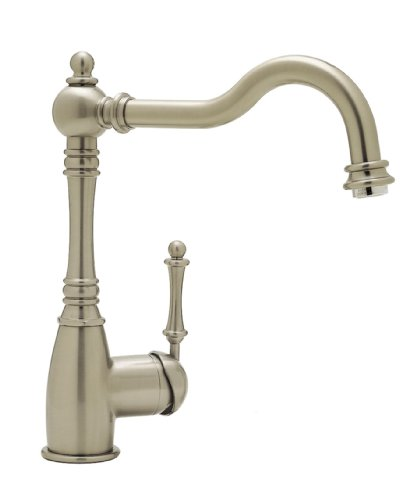 Blanco BL440683 BlancoGrace Kitchen Faucet without Side Spray, Satin Nickel