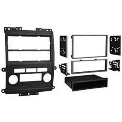 Metra 99-7428B Double DIN/ISO DIN Installation Dash Kit for 2009 Nissan Frontier LE/SE (Black)