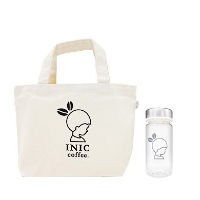 INIC Take Me Bottle with Tote Bag (250ml) with スムースアロマ