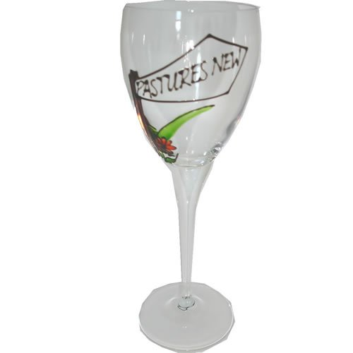 Pastures New Gift Single Wine Glass