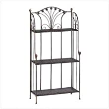 Home Locomotion French Market Baker`S Rack