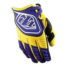 Troy Lee Designs GP Gloves - 2X-Large/Yellow/Purple