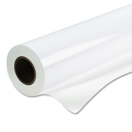 "Kodak - Production Satin Poly Poster Plus Roll, 8 Mil, 42"" X 100 Ft, White 22254800 (Dmi Ea"