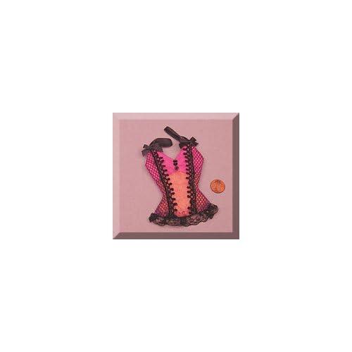 6ea   Hot Pink & Black Camisole Bag
