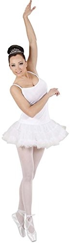 Widmann 76401 - Prima Ballerina Costume, Versione Bianco, in Taglia S