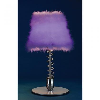 Purple lamps