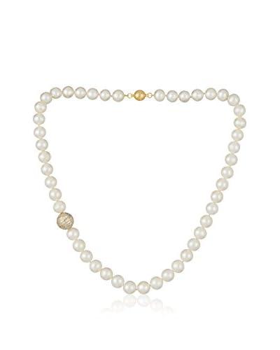 Bentelli Collar 925 Silver Pearls Cubic Zirconia plata de ley 925 milésimas / Oro