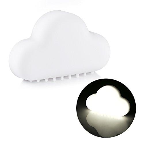 buy ProGreen Baby Smart Night Light Rechargeable Sensor White LED Night Softlight for Kids Room, Bedroom, Nursery, Outdoor - 2 Model Light (6000K White) for sale