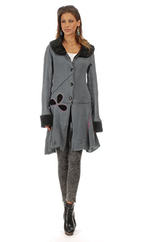 Innocent - Cardigan POPPY - Woman - XL - Grey