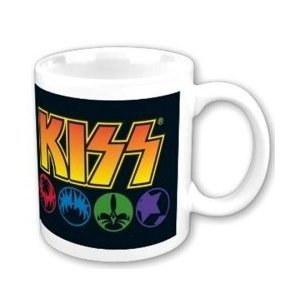 Kiss Masks Logo Mug