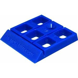 Handi-Shim HS1440BL Plastic Construction Shims / Spacers, 40 Pack, 1/4-Inch, Blue