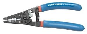 Klein Tools 11053 Klein Tools-Kurve Wire Stripper/Cutter, 6 - 12 ga, Blue