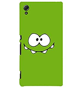 TOUCHNER (TN) Green Smile Back Case Cover for Sony Xperia Z4::Sony Xperia Z4 E6553