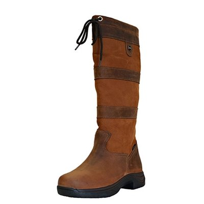 Dublin River Tall Boots - Brown, 10
