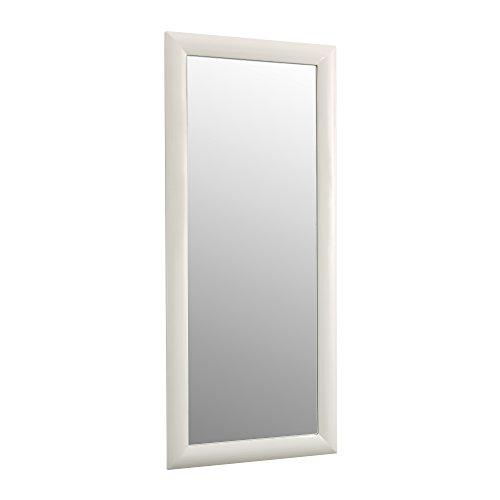 Tomasucci Manhattan Specchiera, Vetro, Bianco, 70 x 6 x 160 cm