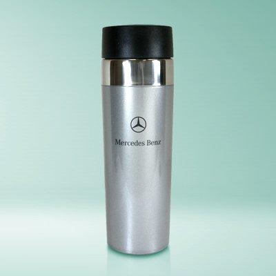 Mercedes-Benz Logo 16 Oz Tumbler Mug, Slim Style, Official Product
