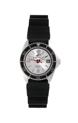 Chris Benz One Lady CBL-SI-SW-KB Reloj elegante para mujeres Reloj de Buceo