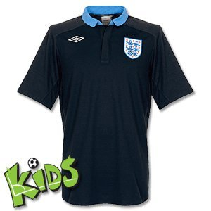 England Boys Away Football Shirt 2011-12