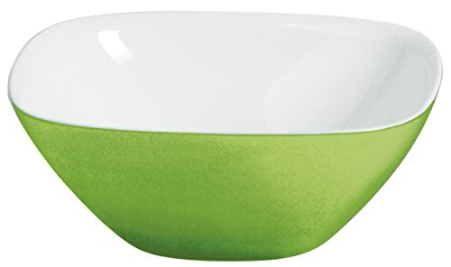Guzzini Vintage Acid Green Bowl, 11-3/4-Inches Green Glass Serving Bowl