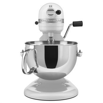 KitchenAid Professional 600 Series 6-Quart Stand Mixer KP26M1XQWH 6 Quart White Large 10-speed by Kitchenaid