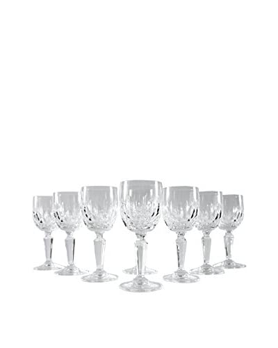 Set of 8 Petite French Champagne Glasses