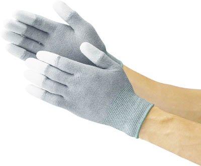TRUSCO(トラスコ) 静電気対策用手袋(指先ウレタンコート) M