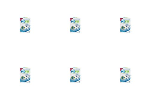 (6 PACK) - Ecover Non Bio Washing Powder - Fragrance Free | 750g | 6 PACK - SUPER SAVER - SAVE MONEY