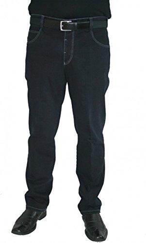 Meyer Hosen -  Jeans  - straight - Basic - Uomo Blau W31