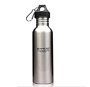 750ml Stainless Steel Portable Outdoor Bike Bicycle Cycling Sports Water Bottle