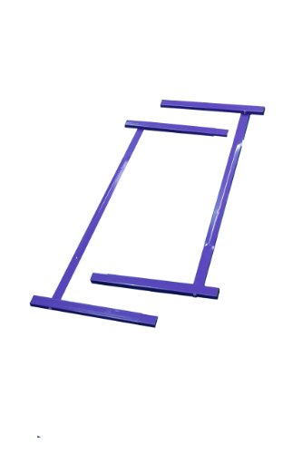 Tumbl Trak Junior Purple Kip Bar Extensions Steel Extensions to Extend Base Supports, 4-Feet Width x 2-Feet Length (Tumbl Trak Bar compare prices)