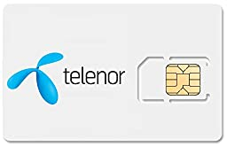 Norway Mobile Phone SIM Card, £1.99/day for UNLIMITED Internet and 120 Calling Minutes! FREE Incoming Calls!