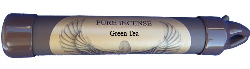 Green Tea - Pure Incense New To Amazon! Burns Twice As Long As Other Incense - Coreless!! Nothing To Provoke Allergies (25-30 Sticks) Green Tea Is Soft, Clean And Fresh - Purifying And Uplifting.