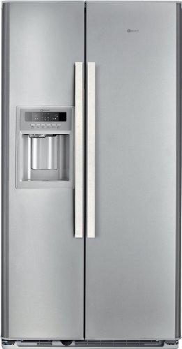 Bauknecht KSN 520 A+ IO Side By Side / A+ / Kühlen: 335 L / Gefrieren: 180  L / Edelstahloptik / NoFrost / Crushed Ice Spender