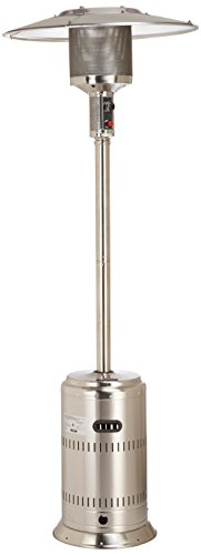 Fire Sense Commercial Patio Heater, Unpainted Stainless Steel