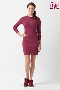 L!ve Long Sleeve Pique Polo Dress