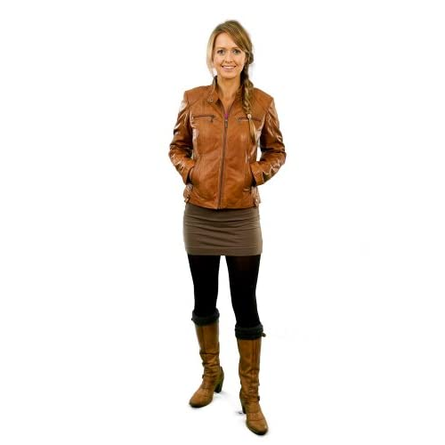 Piper Womens Leather Jacket