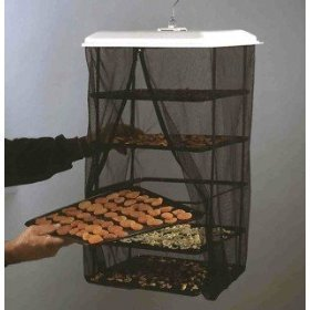 Food Dehydrator Hanging Food Pantrie Dehydration System Non Electric, Environmentally Friendly, Natural Way to Dry Foods. 5 tray Dehydrator from DENTT INC