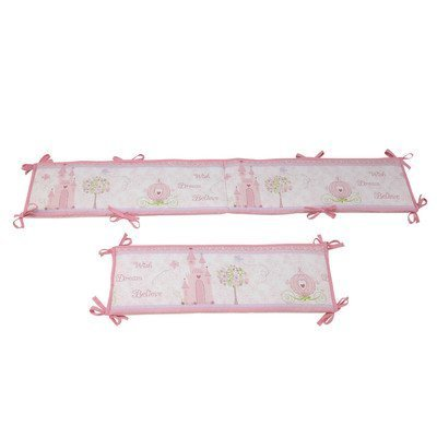 Disney Princess Traditional Padded Bumper, Happily Ever After front-801167