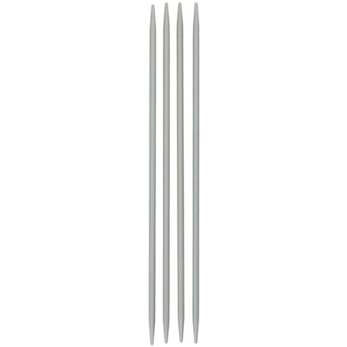 Susan Bates 10-Inch Quicksilver Double Point Knitting Needle, 6mm, 4 Per Package