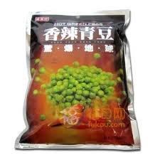 Sheng Xiang Zhen (Triko) Hot Green Peas 8.46oz by TRIKO