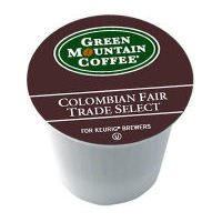 Green Mountain Coffee Colombian Fair Trade Select