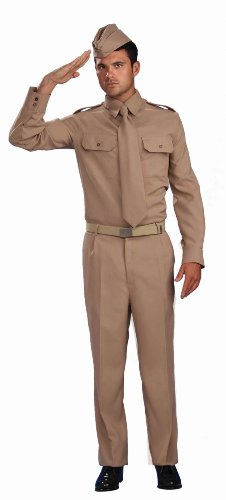 Forum Novelties Men's Combat Heroes Ww2 Private Soldier Costume
