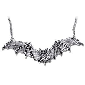 Gothic Bat Necklace By Alchemy Gothic