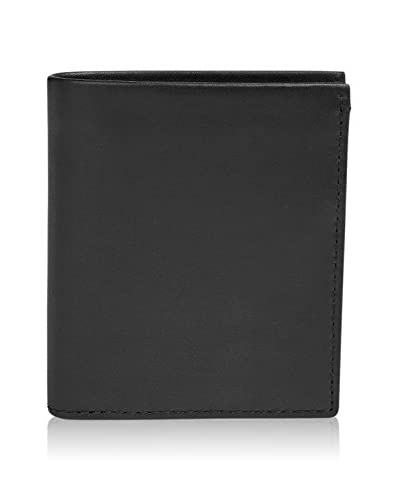 Skagen Brieftasche Nicolaj schwarz