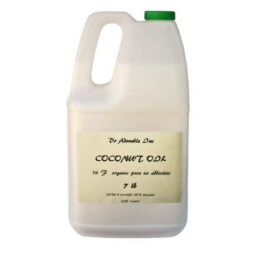 Organic Pure Coconut Oil 76 Degree 7 Lb / One Gallon