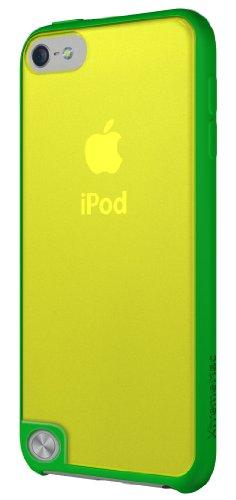 XtremeMac Microshield Accent IPT-MAN-53 - Bordo Gommato per iPod Touch 5, Colore Verde, Giallo
