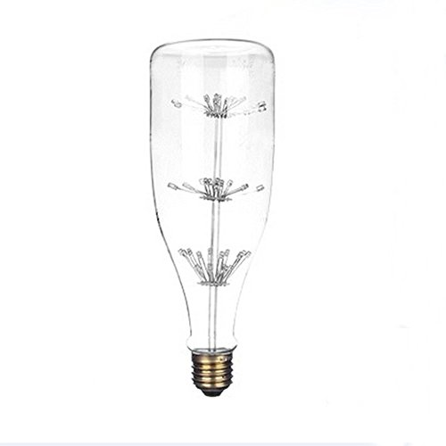 xinrong stile retrò LED Edison Filamento Luce buld Wishing bottiglia a forma di lampadina E273W 220V cielo stellato decorativo regalo di natale