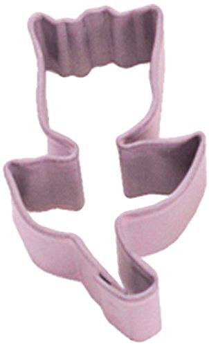 Dress My Cupcake DMC41CC150SET Tulip Cookie Cutter, Mini, Pink, Set of 12