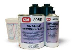 SEM 39650 Tintable Truckbed Liner Kit by SEM